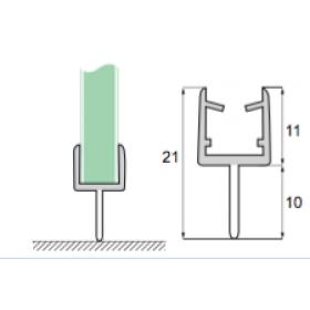 Glas til gulv S-5701