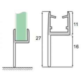Glas til gulv S-5714